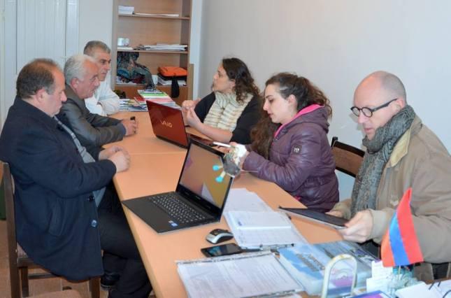 Կազմակերպչական հանդիպում համայնքների ղեկավարների հետ